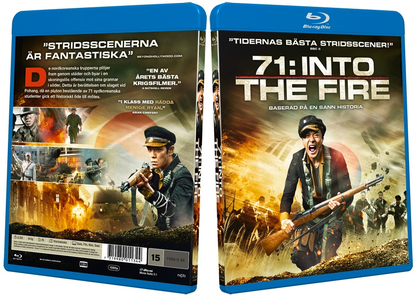 71: Into The Fire Blu-ray Disc | AsianBlurayGuide.com