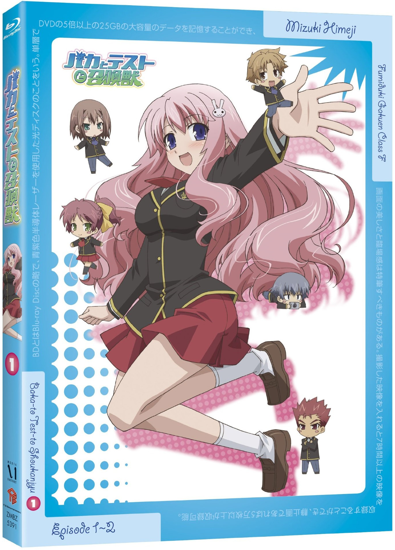 Baka to test to shokanju vol 5