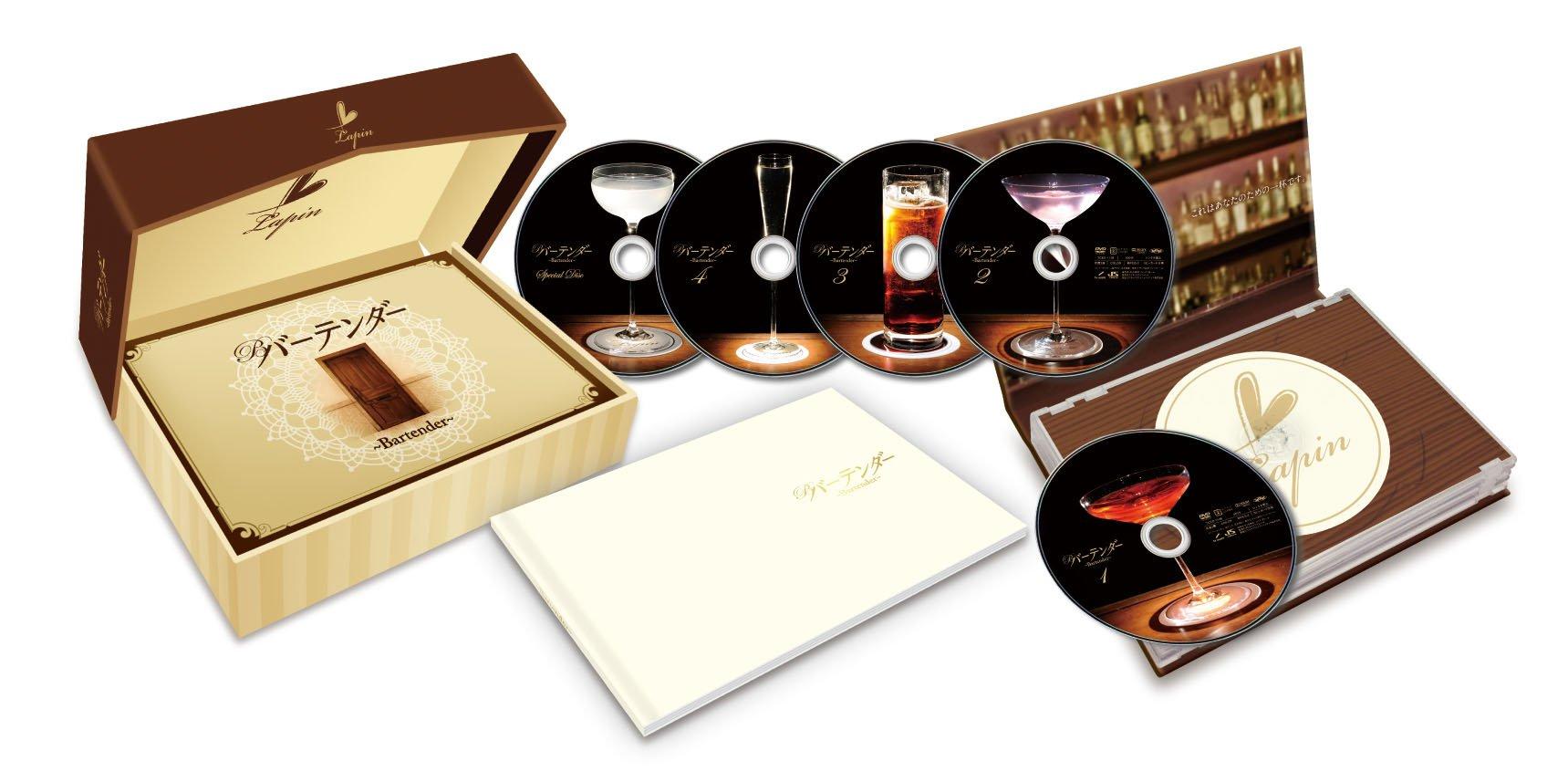 Bartender tv box blu ray disc for Bat box obi