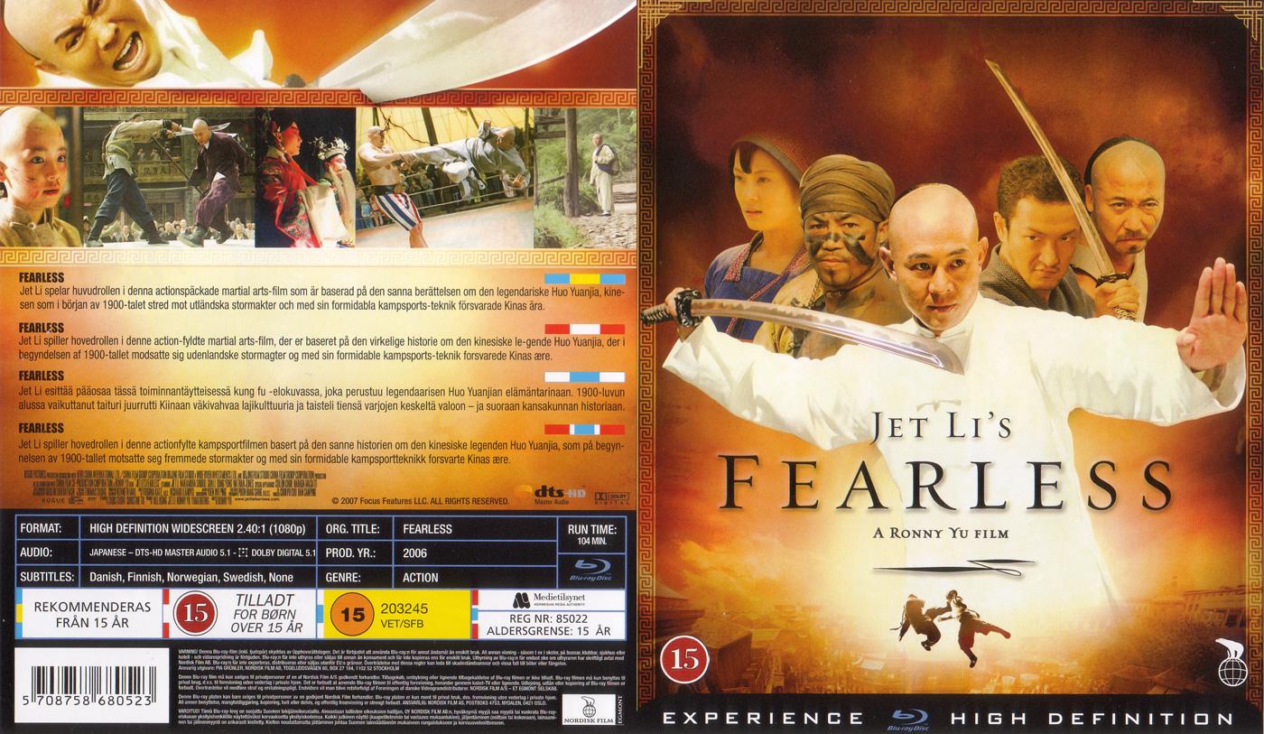 Fearless Blu-ray Disc | AsianBlurayGuide.com