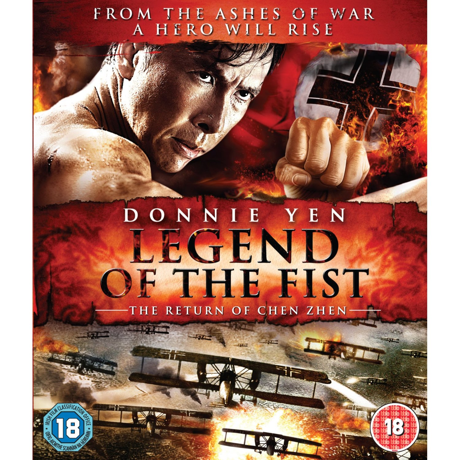 Legend of the Fist: The Return of Chen Zhen Blu-ray Disc ...