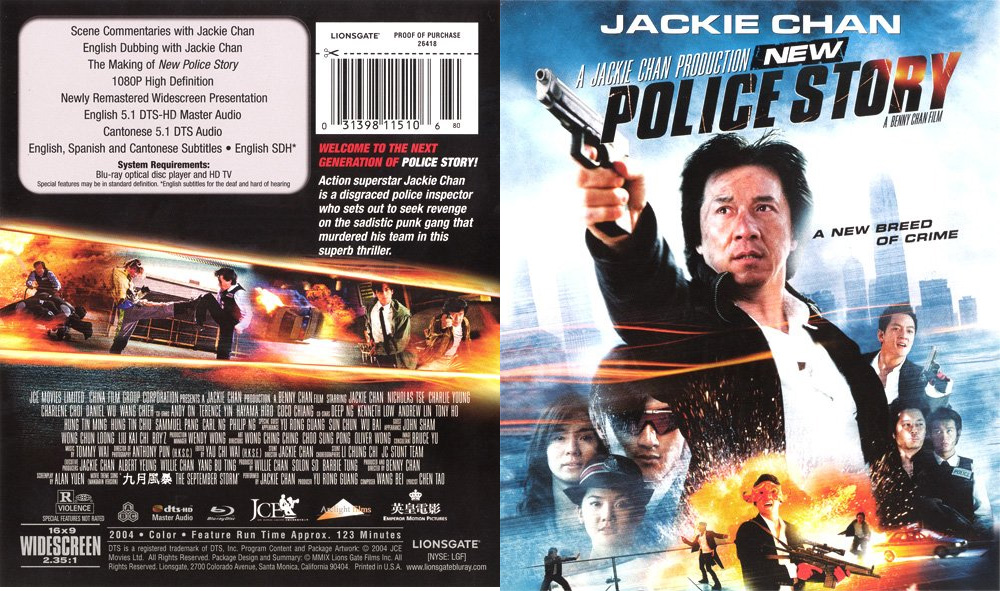 new police story jackie chan