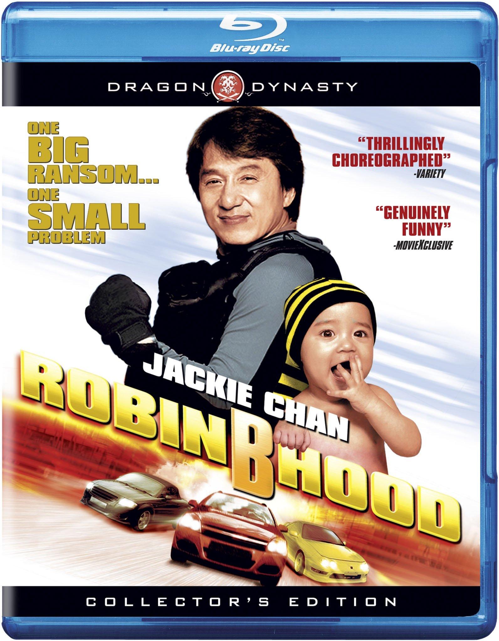 Robin Hood Blu-ray DVD