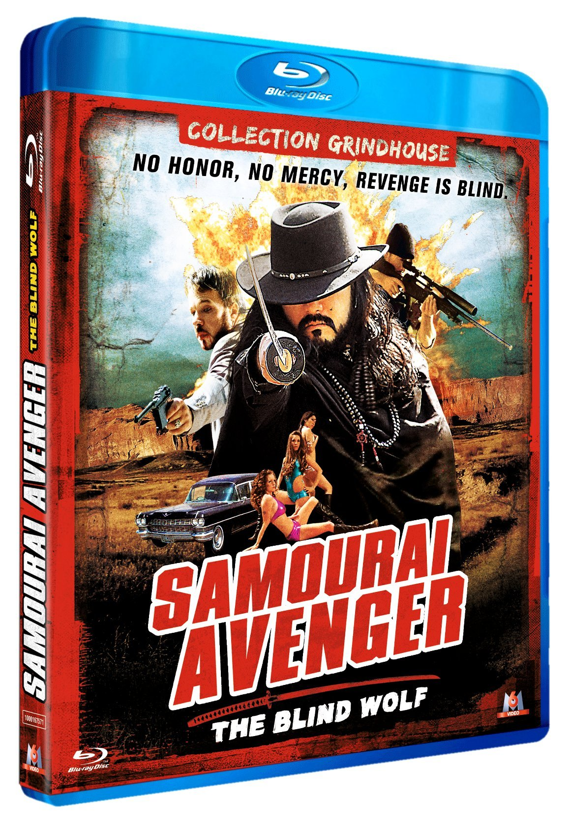 Samurai Avenger: The Blind Wolf [BLURAY 720p]