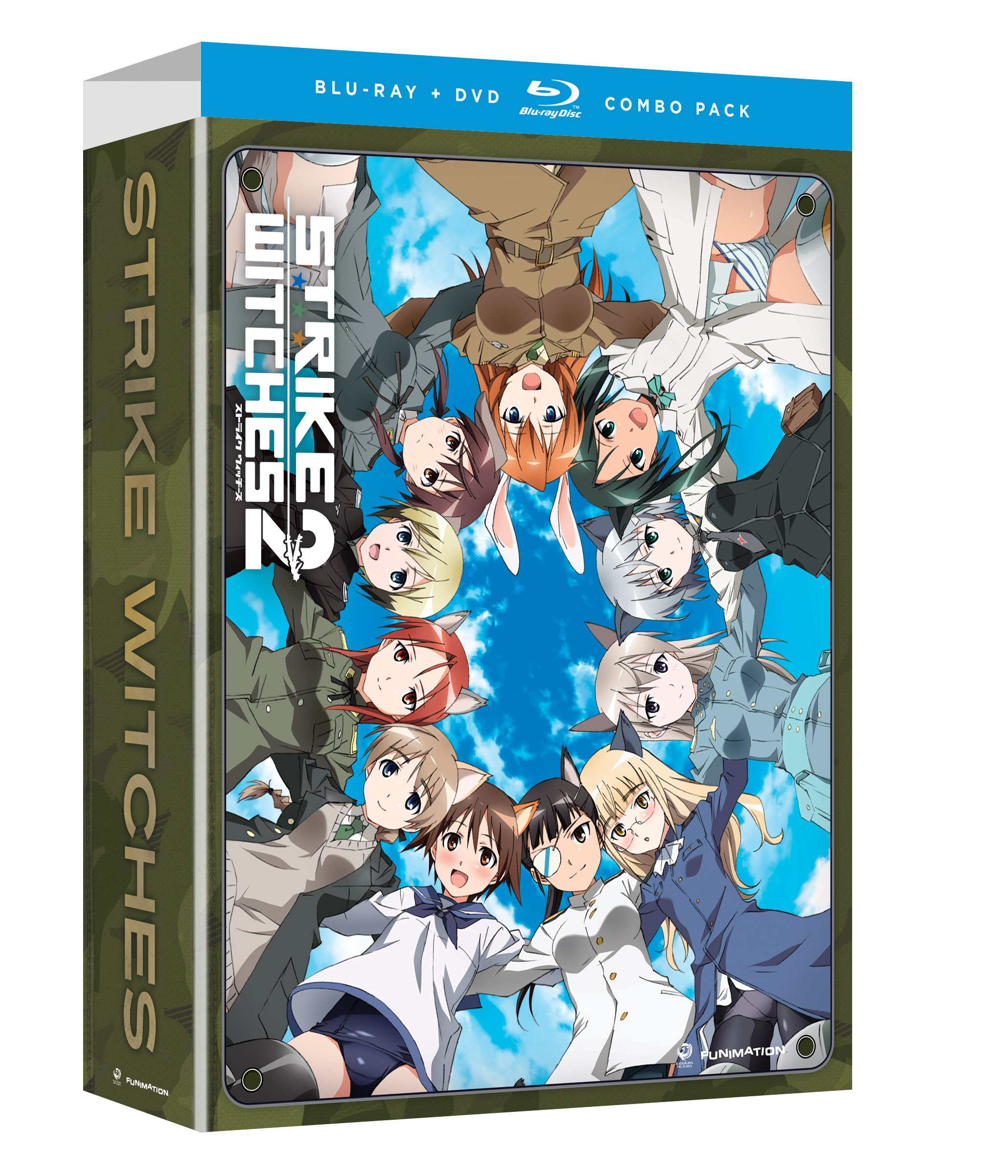 Strike witches season 2 collection limited edition blu ray disc